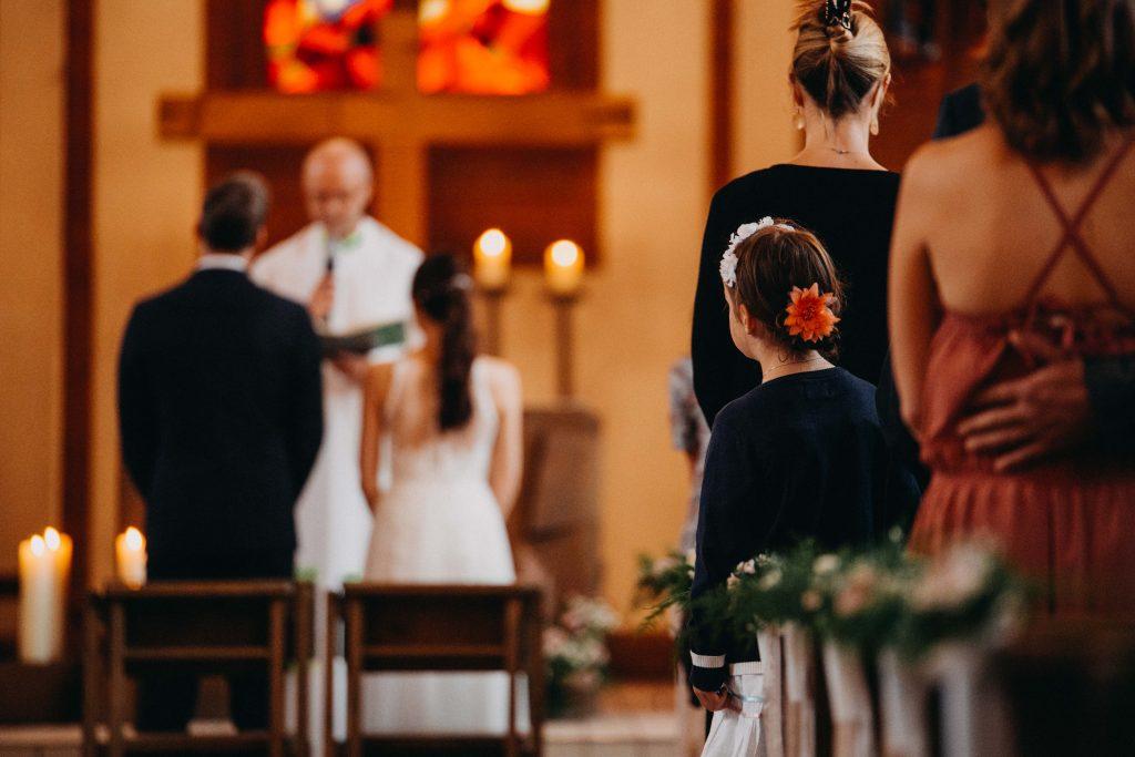 Blumenkinder Hochzeit Trauung Kirche